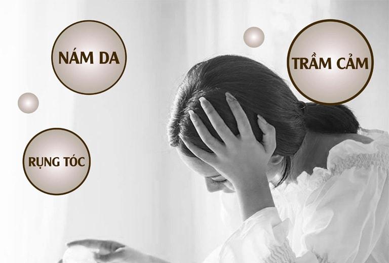 Biểu hiện khi nữ giới bị thiếu hụt nội tiết tố