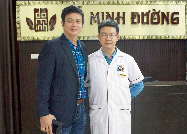 Diễn viên Lê Bá Anh khắc phục suy giam ham muốn ở nam giới tại nhà thuốc Đỗ Minh Đường