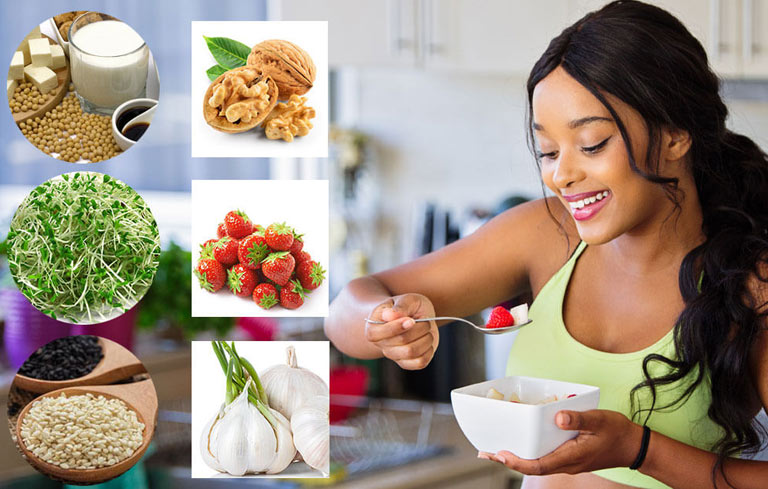 Có nhiều thực phẩm tăng cường sinh lý nữ