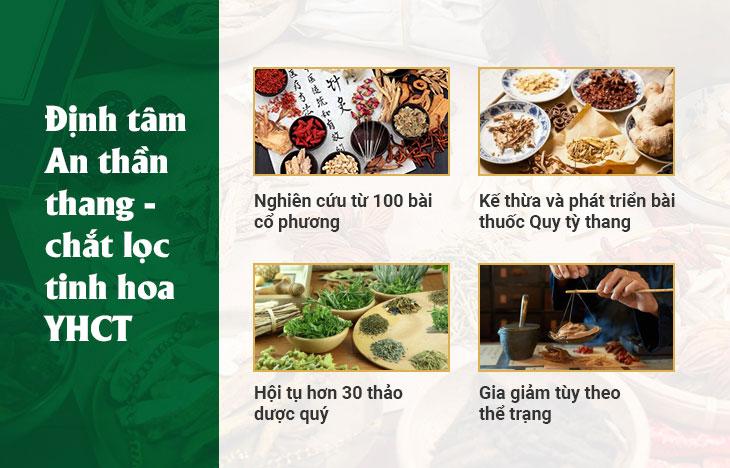 Định tâm An thần thang kết tinh giá trị Y học cổ truyền Việt Nam