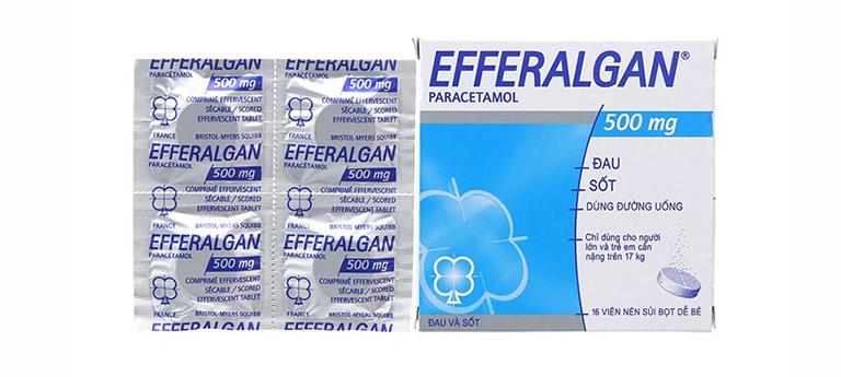 Thuốc hạ sốt Efferalgan
