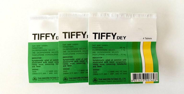 Thuốc giảm đau hạ sốt Tiffy