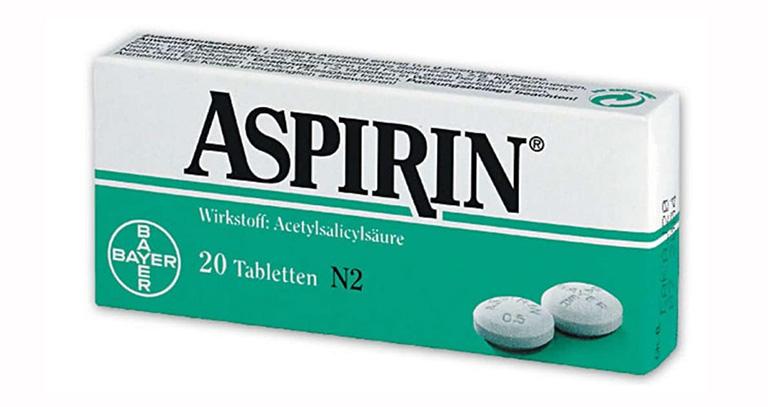 Thuốc Aspirin giảm đau, hạ sốt