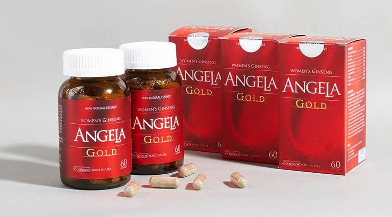 Sâm Angela Gold là sản phẩm nổi tiếng của Mỹ và được khá nhiều chị em tin tưởng