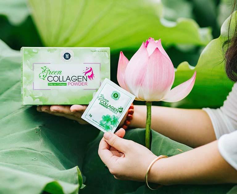 Diệp Lục Collagen giúp chống khô âm đạo hiệu quả