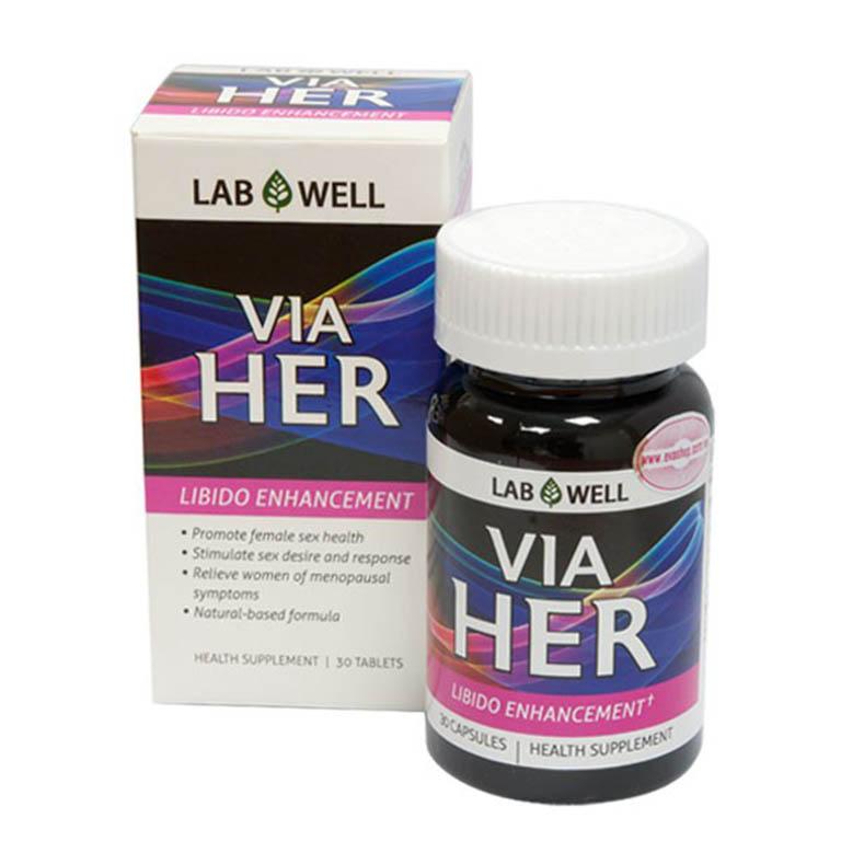 Viên uống Via Her giúp làm chận quá trình mãn kinh và tiền mãn kinh
