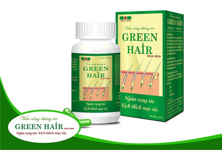 Thuốc trị rụng tóc Green Hair Hoa Sen