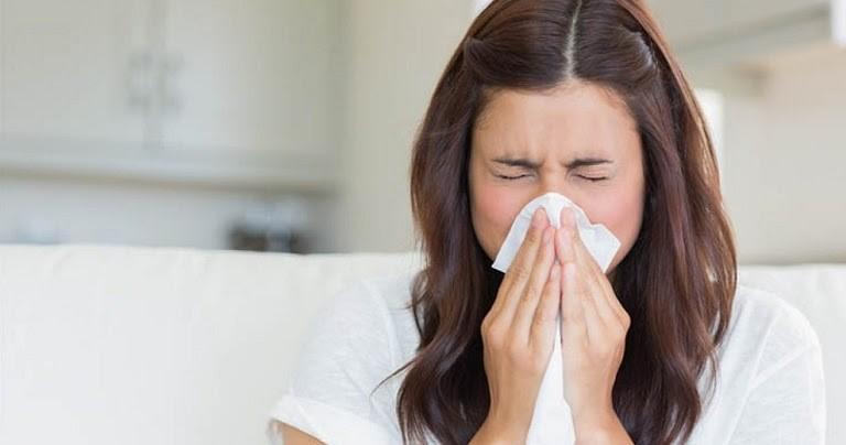 Dị ứng thời tiết gây khó chịu cho đường hô hấp