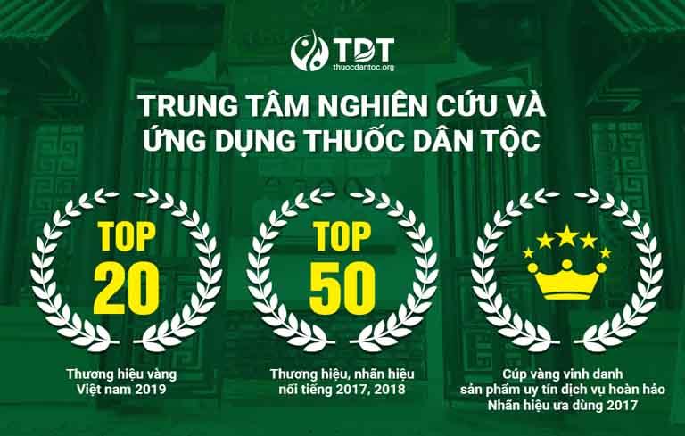 Trung tâm Thuốc dân tộc nhận được nhiều giải thưởng danh giá