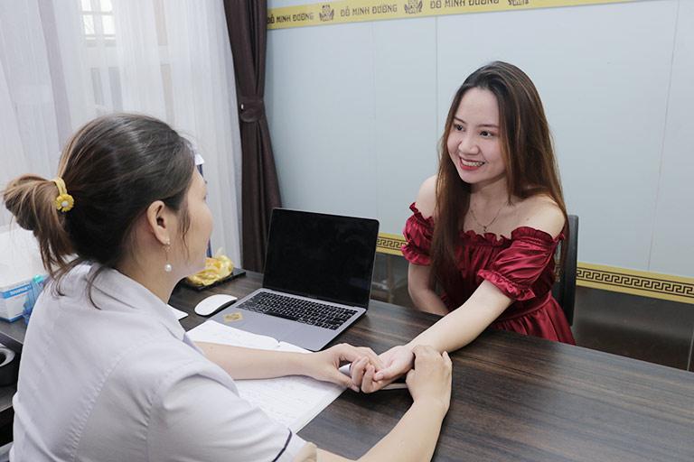 Bệnh nhân Hương Ly chữa bệnh nội tiết tại Đỗ Minh Đường