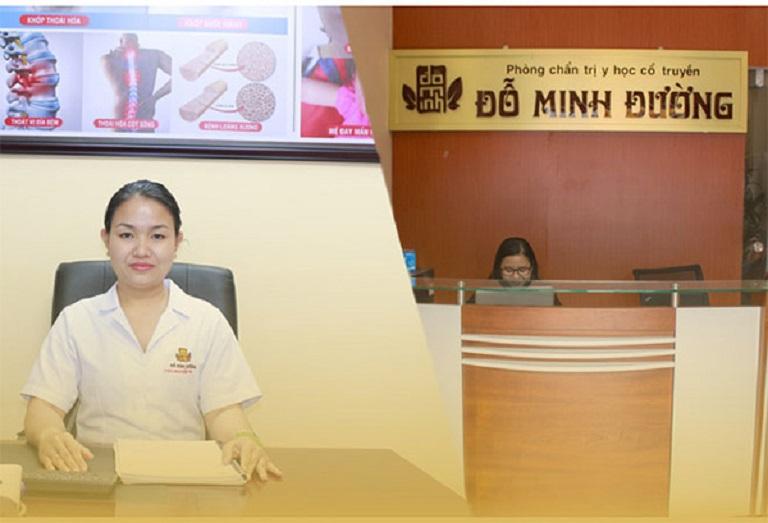 Lương y Nguyễn Thị Đoan Trinh - Phụ trách khám, chữa bệnh sinh lý nữ tại nhà thuốc Đỗ Minh Đường