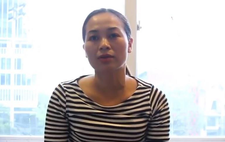 Làn da của chị Hiền sau khi sử dụng Bộ sản phẩm Vương Phi