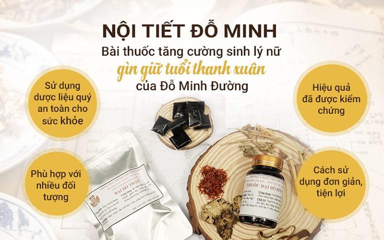 Bài thuốc Nội tiết Đỗ Minh