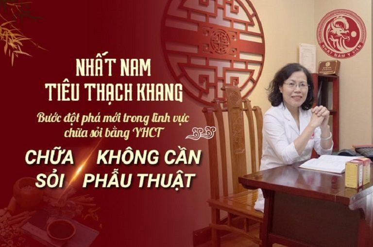 Tiến sĩ - Bác sĩ Nguyễn Thị Vân Anh đánh giá cao hiệu quả chữa bệnh bằng Nhất Nam Tiêu Thạch Khang