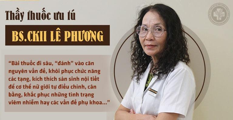 Thầy thuốc ưu tú, bác sĩ Lê Phương – GĐ chuyên môn Trung tâm Thừa kế và Ứng dụng Đông y Việt Nam nói về Phụ Khang Đỗ Minh