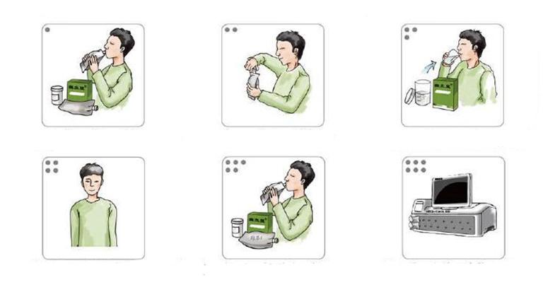 Quy trình thực hiện chi tiết thủ thuật test vi khuẩn HP bằng hơi thở