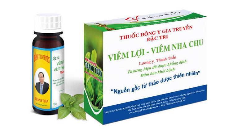 Thuốc Đông y gia truyền đặc trị đau răng của lương y Thanh Tuấn là một bài thuốc lưu truyền 3 đời của dòng họ Nguyễn