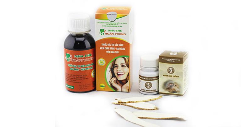 Nha Chu Hoàn Vương là sản phẩm được bào chế từ các thảo dược thiên nhiên giúp làm giảm các triệu chứng đau nhức răng