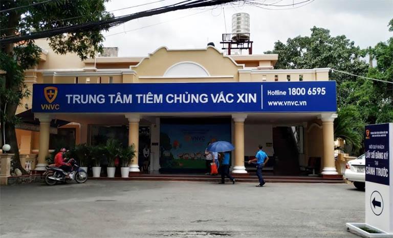 Trung tâm tiêm chủng vắc xin VNVC là một trong những địa chỉ tiêm chủng viêm gan A uy tín nhất nhì hiện nay