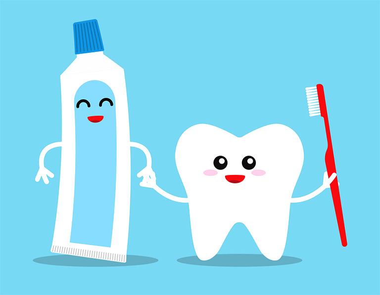 Chú ý đến việc vệ sinh răng miệng mỗi ngày sau khi lấy tủy răng