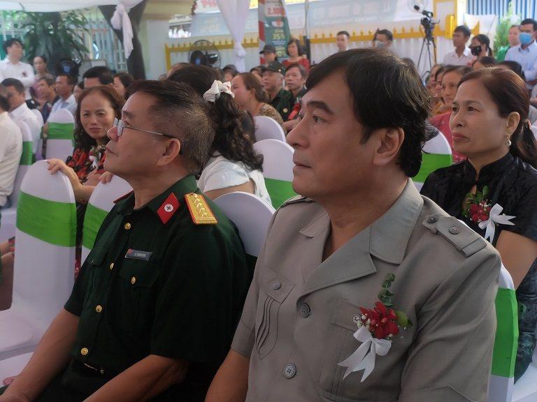 NSND Mạnh Cường góp mặt trong lễ công bố thương hiệu CTCP Bệnh viện YHCT Quân dân 102
