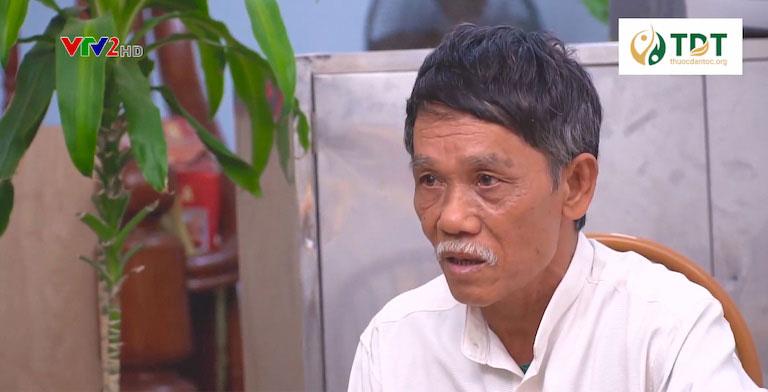 Chú Nguyễn Bá Thành chia sẻ sau khi điều trị căn bệnh đau dạ dày nhờ Sơ can Bình vị tán