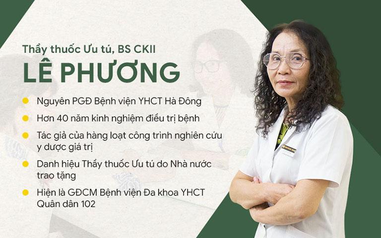 TTƯT.BSCKII Lê Phương - Giám đốc chuyên môn bệnh viện Xương khớp Quân dân 102