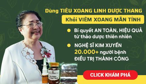 banner viêm xoang Kim Xuyến