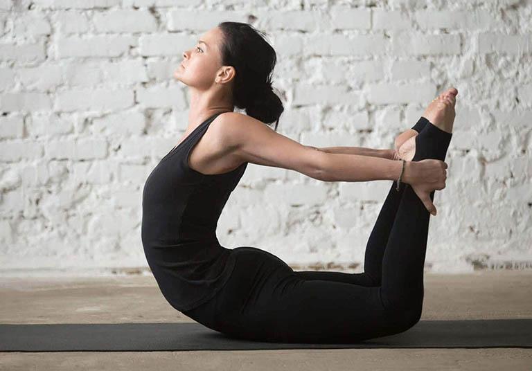Yoga giúp cải thiện triệu chứng và hạn chế gia tăng kích thước của khối u xơ