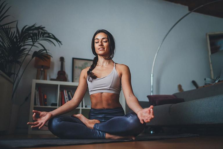 Hành khí tại nhà giúp cơ thể được thả lỏng, giảm sự căng thẳng và hỗ trợ làm teo khối polyp mũi