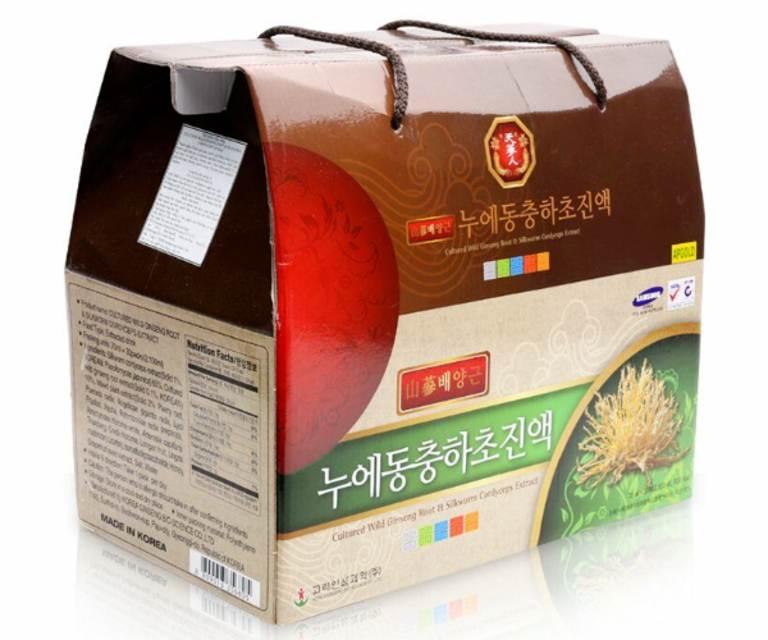 Sản phẩm Culture Wild Ginseng Root & Silkworm Cordycep