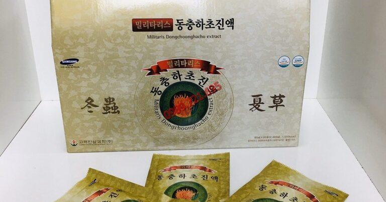Sản phẩm nước uống Militaris dongchoonghacho extract