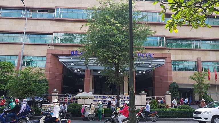Bệnh viện Đại học Y dược Thành phố Hồ Chí Minh có đội ngũ y bác sĩ giỏi, giàu kinh nghiệm