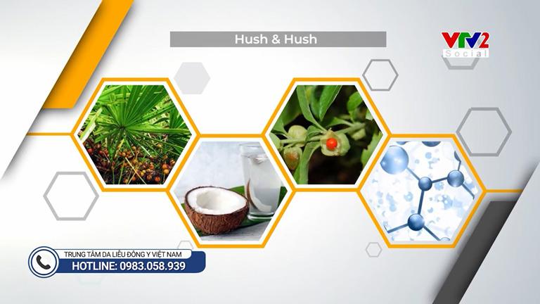Viên uống Hush & Hush là sự kết hợp hoàn hảo giữa nhiều thảo dược tự nhiên giúp kích thích mọc tóc