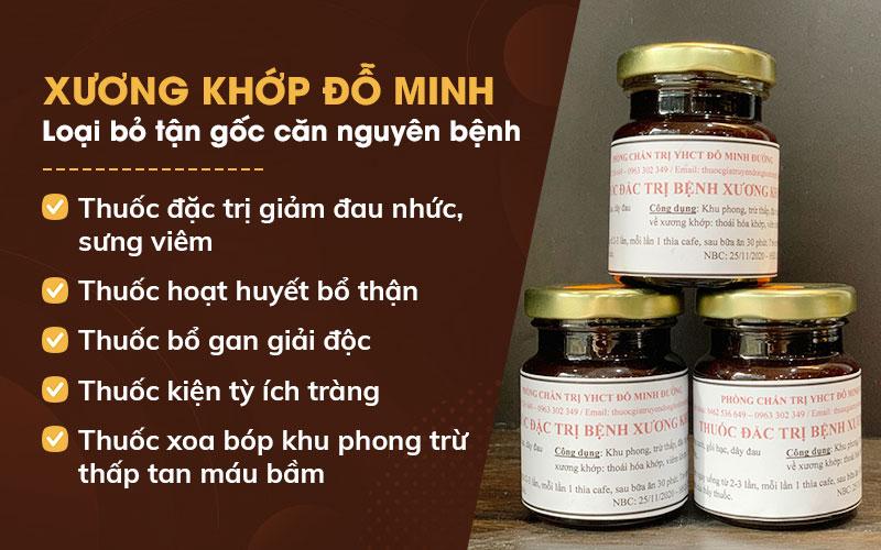 Bài thuốc Đỗ Minh Thoát Vị Thang