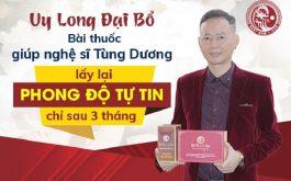 Uy Long Đại Bổ giúp nghệ sĩ Tùng Dương tìm lại phong độ sung mãn