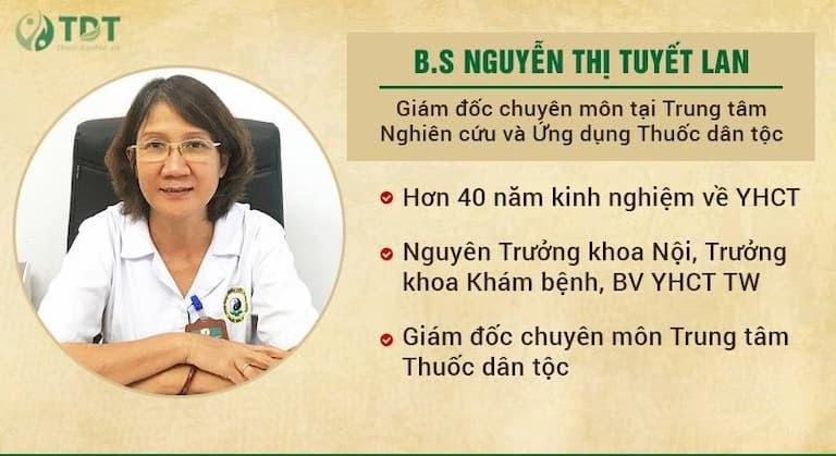 Bác sĩ Tuyết Lan đánh giá cao phương pháp vật lý trị liệu tại Trung tâm