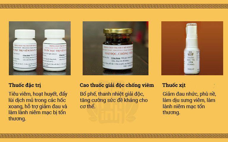 Liệu trình bài thuốc chữa viêm đa xoang, viêm mũi dị ứng của Đỗ Minh Đường