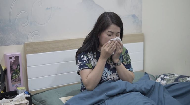 Diễn viên Thanh Tú bị viêm đa xoang, viêm mũi dị ứng đeo bám nhiều năm