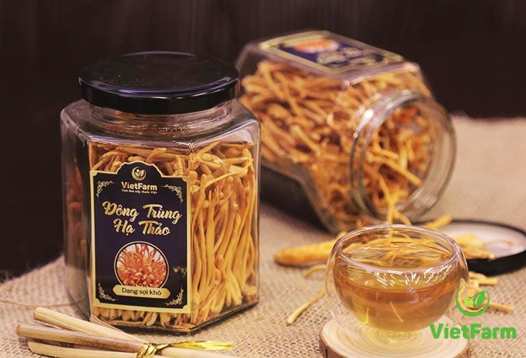 Đông trùng hạ thảo Vietfarm, lựa chọn vàng cho sức khoẻ