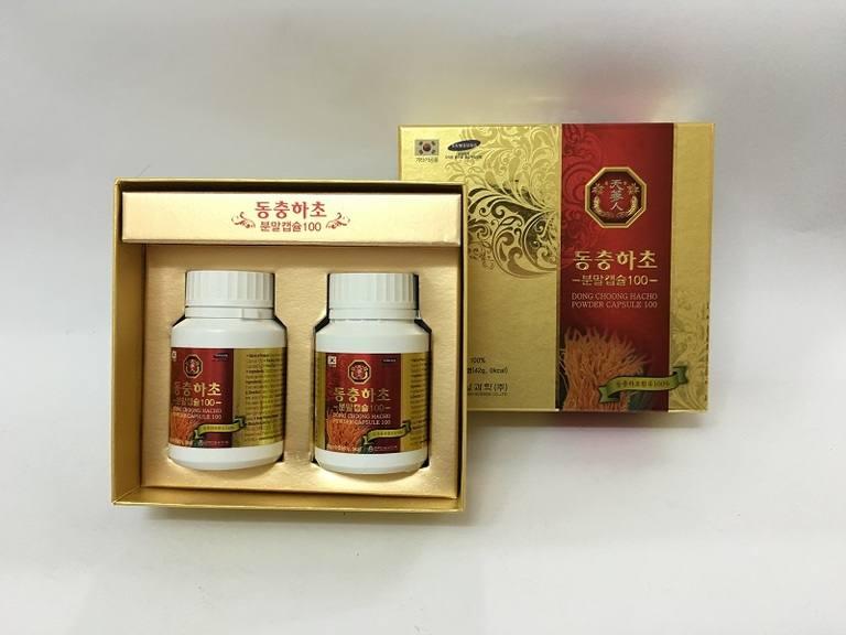Viên uống 100 – Dong Chung Hacho Powder Capsule 100%
