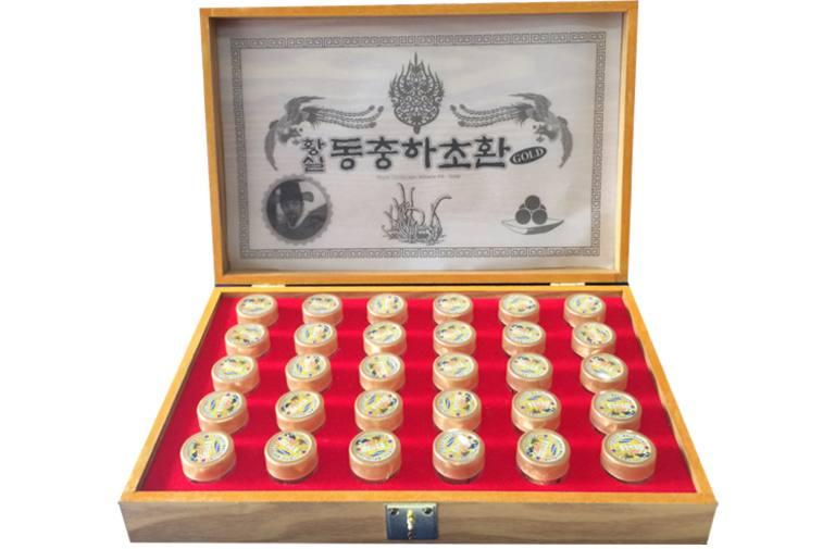 Viên uống đông trùng hạ thảo Hàn Quốc Kanghwa được tạo nên từ dược liệu quý