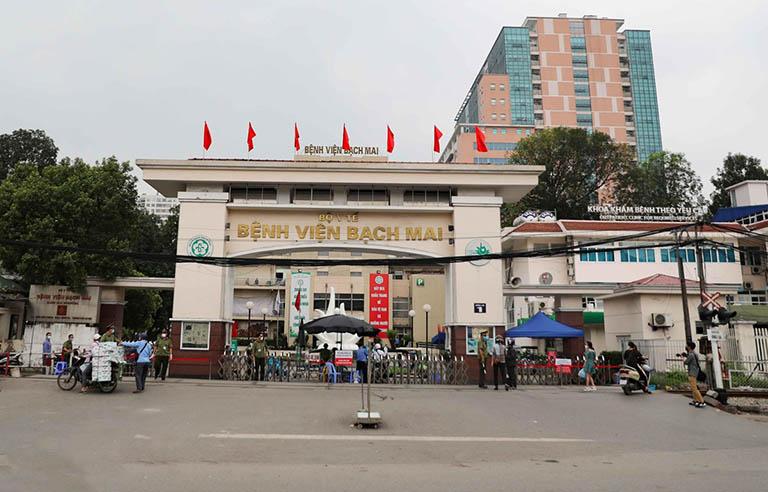 Khoa Tiêu hóa của bệnh viện Bạch Mai có đội ngũ y bác sĩ khám bệnh đại tràng giỏi