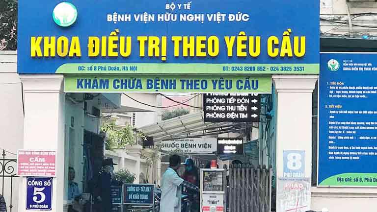Khám đại tràng ở Hà Nội tại bệnh viện nào uy tín và chất lượng? - Bệnh viện Hữu Nghị Việt Đức