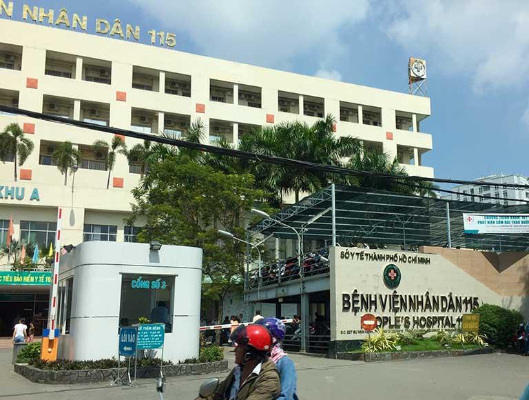 Bệnh viện Nhân dân 115 có đội ngũ y bác sĩ khám trị bệnh viêm đại tràng giỏi