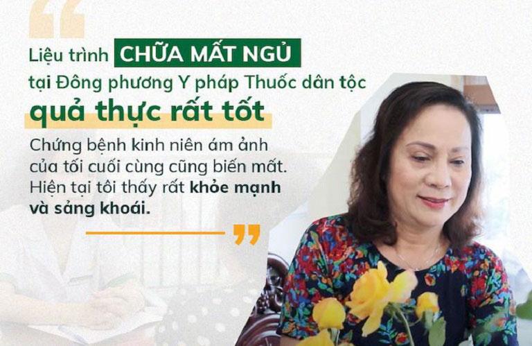 NS Hương Dung chiến thắng căn bệnh mất ngủ lâu năm nhờ Trung tâm Đông phương Y pháp