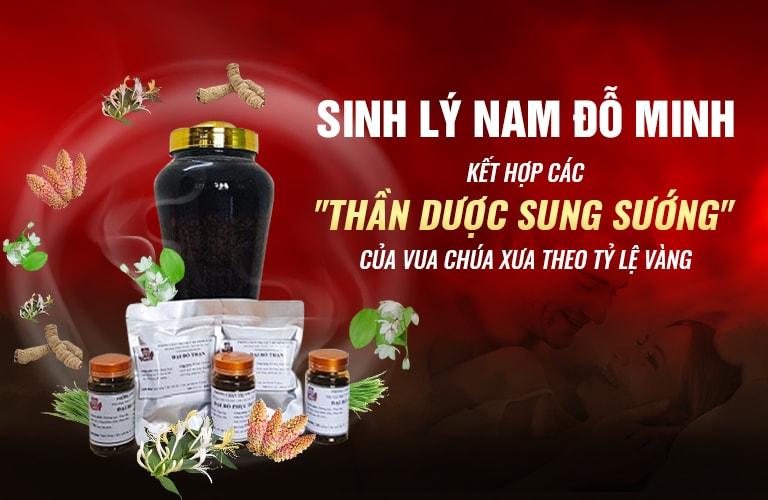 Bài thuốc Sinh lý nam Đỗ Minh - Vị cứu tinh cho NSUT Minh Tuấn