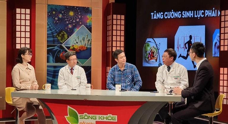 """Nhà thuốc Đỗ Minh Đường trên chương trình """"Sống khỏe mỗi ngày - Tăng cường sinh lực phái mạnh"""""""