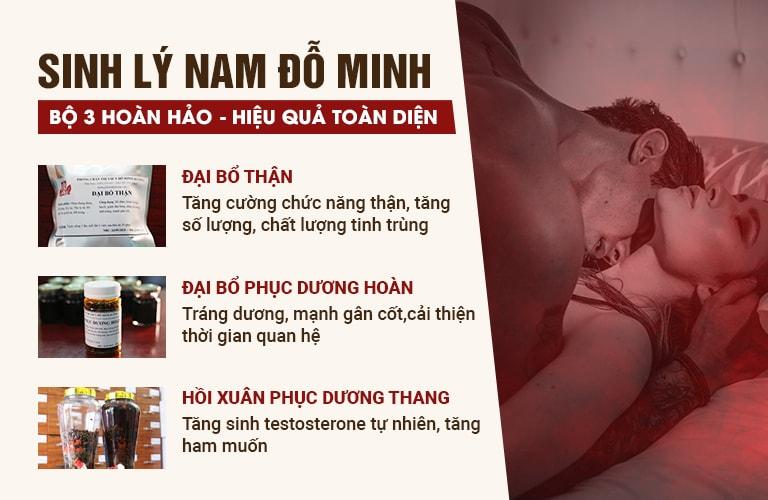 """Chi tiết bài thuốc """"3 trong 1"""" chữa sinh lý nam của Đỗ Minh Đường"""