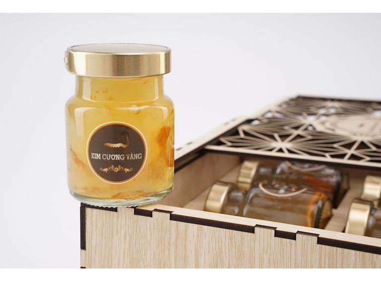Nước uống Kim Cương Vàng có hương vị thơm ngon